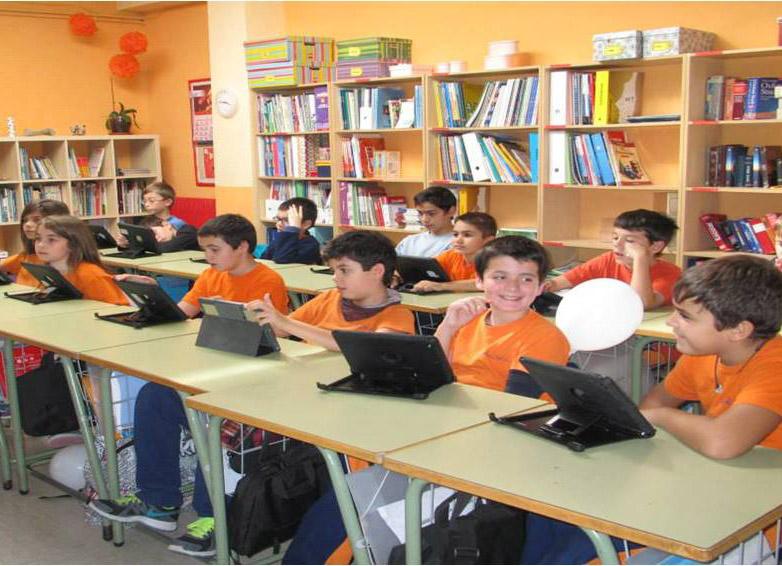 Foto aula virtual Rigel